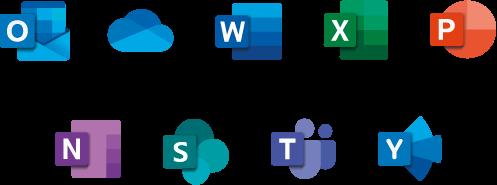 Microsoft Office 365 aplicaciones